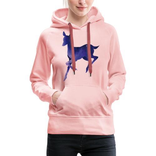 Deer - Sudadera con capucha premium para mujer