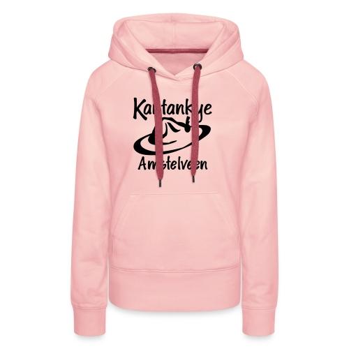 logo naam hoed amstelveen - Vrouwen Premium hoodie