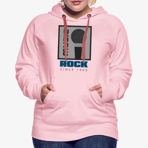 MUSIC 004A - Sudadera con capucha premium para mujer