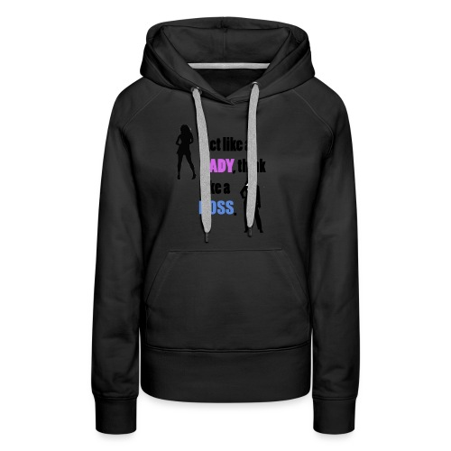 Women get success - Frauen Premium Hoodie