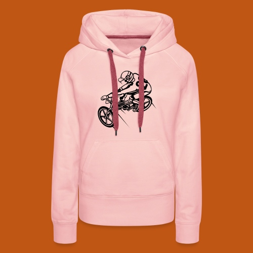 BMX Fahrrad / Bike 01_schwarz - Frauen Premium Hoodie