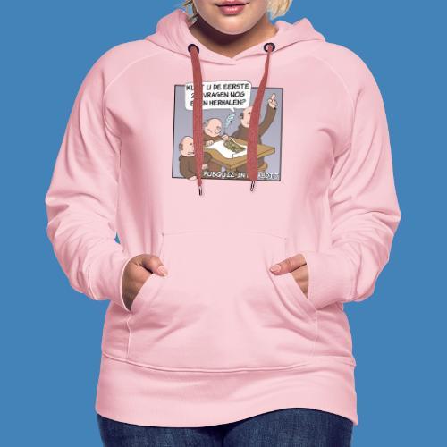 Pubquiz in de Abdij - Vrouwen Premium hoodie