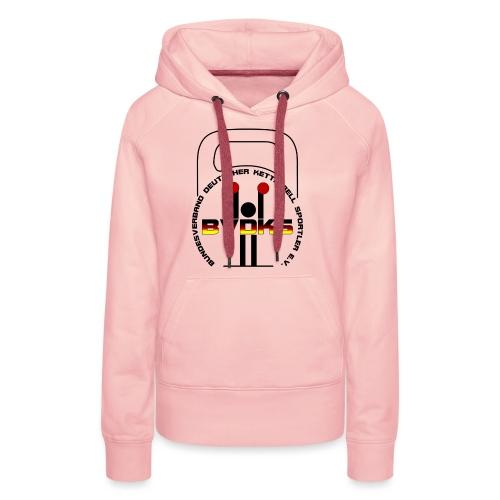T-Shirt vorn - Frauen Premium Hoodie