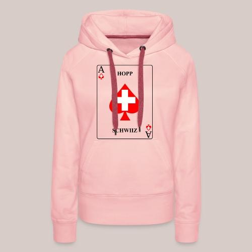Schweiz - Frauen Premium Hoodie