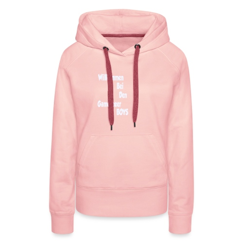 Begruessung Weiß - Frauen Premium Hoodie