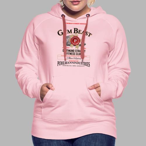 GYM BEAST - Frauen Premium Hoodie