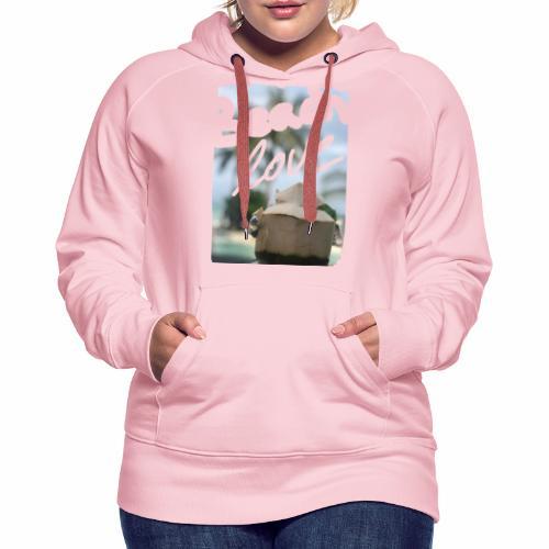 Beach Love & Coco - Frauen Premium Hoodie
