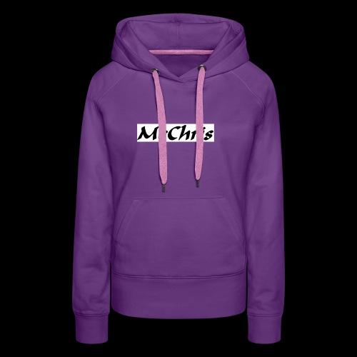 MCCHRIS - Frauen Premium Hoodie