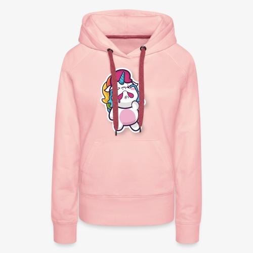 Funny Unicorn - Women's Premium Hoodie