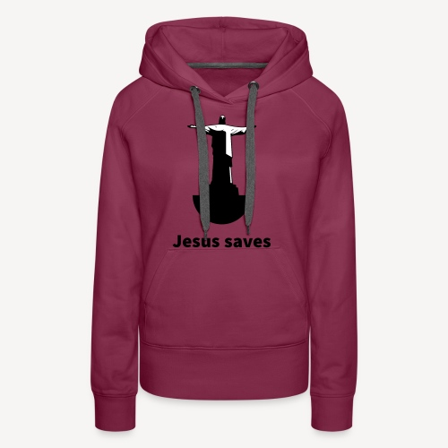 JESUS SAVES - Women's Premium Hoodie