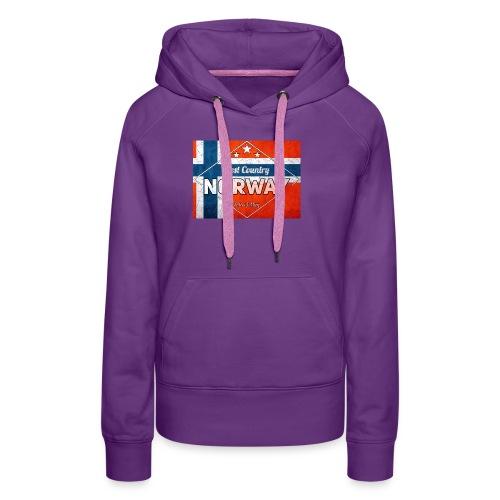 Best Cuntry NORWAY - Women's Premium Hoodie