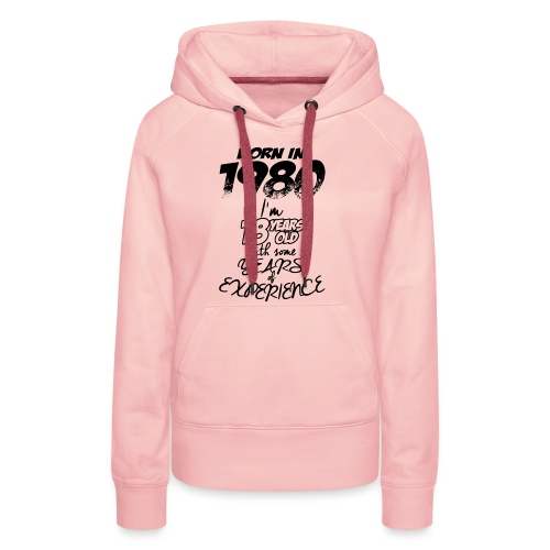 born In1980 - Women's Premium Hoodie