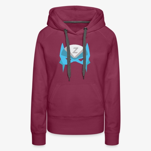 MASK 3 SUPER HERO - Sweat-shirt à capuche Premium pour femmes