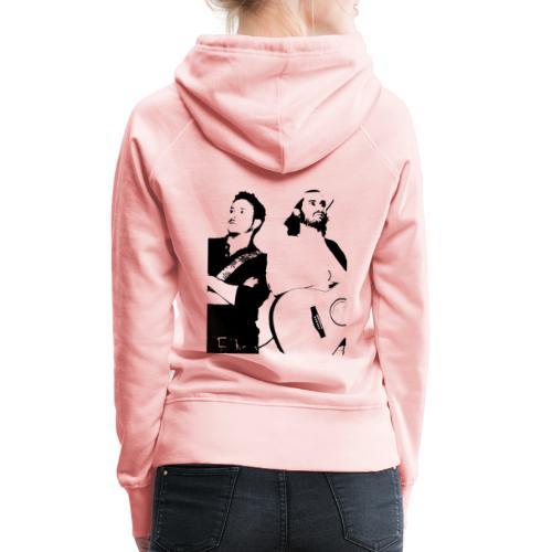 Das Schwarz-Weiße Bild - Frauen Premium Hoodie