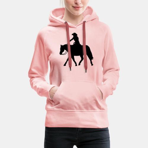 Ranch Riding extendet Trot - Frauen Premium Hoodie