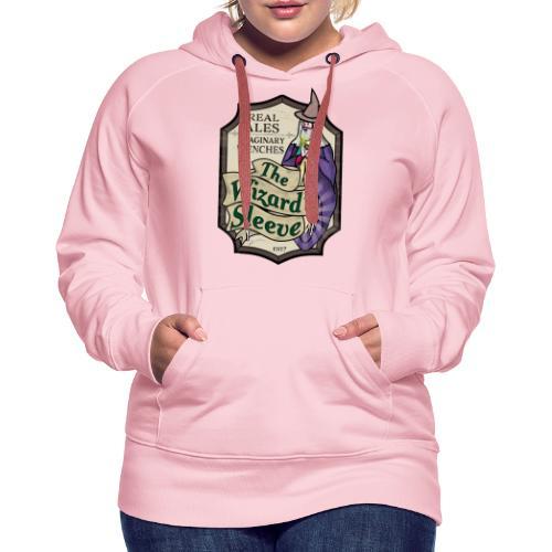 Wizard's Sleeve Pub Sign - Women's Premium Hoodie