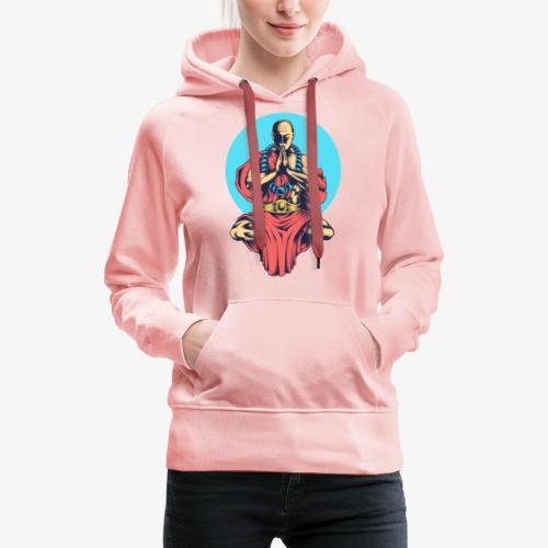 La paix intérieure - Sweat-shirt à capuche Premium pour femmes