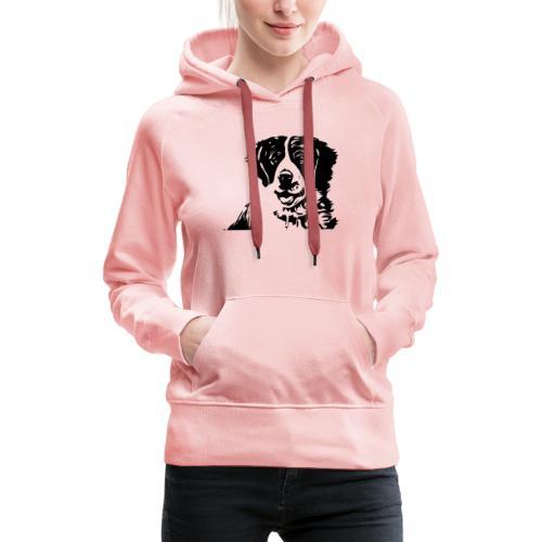 Barry - St-Bernard dog - Frauen Premium Hoodie