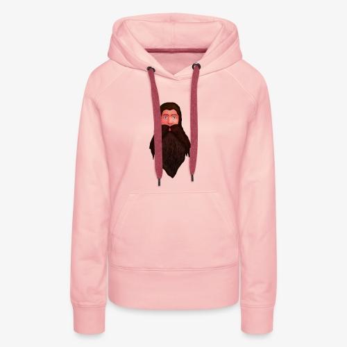 Tête de nain - Sweat-shirt à capuche Premium pour femmes