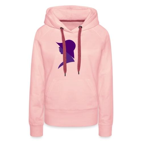 vrouw hoed - Vrouwen Premium hoodie