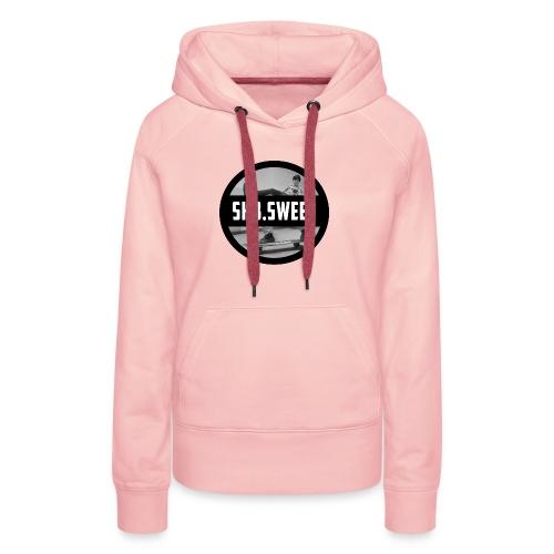 sk8 buttons - Vrouwen Premium hoodie