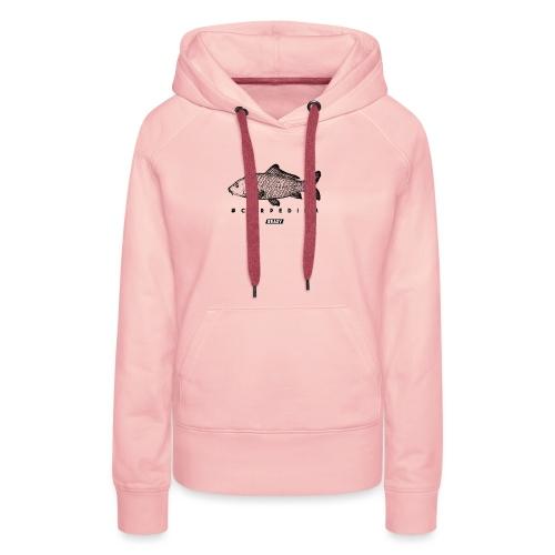#EASY Carpe Diem T-Shirt - Felpa con cappuccio premium da donna