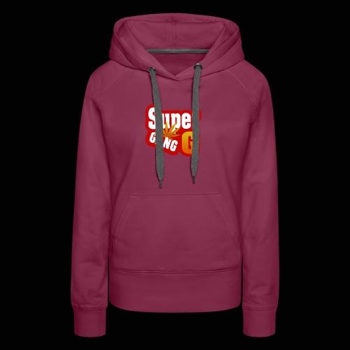 SuperG-Gang - Dame Premium hættetrøje