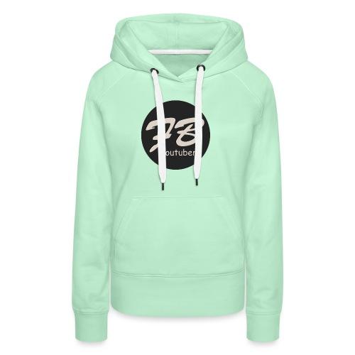 TSHIRT-YOUTUBER - Vrouwen Premium hoodie