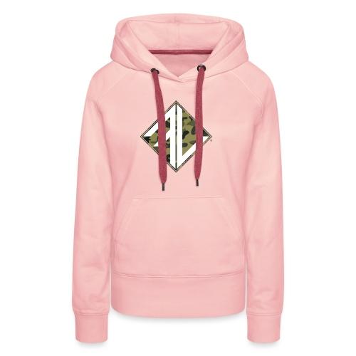 Logo Square FV Camo - Vrouwen Premium hoodie