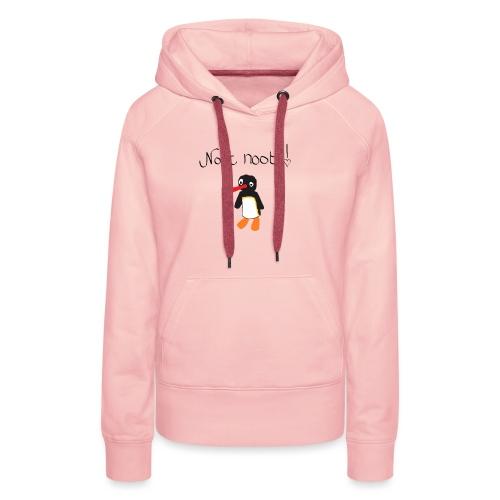 NOOT NOOT x3 - Vrouwen Premium hoodie