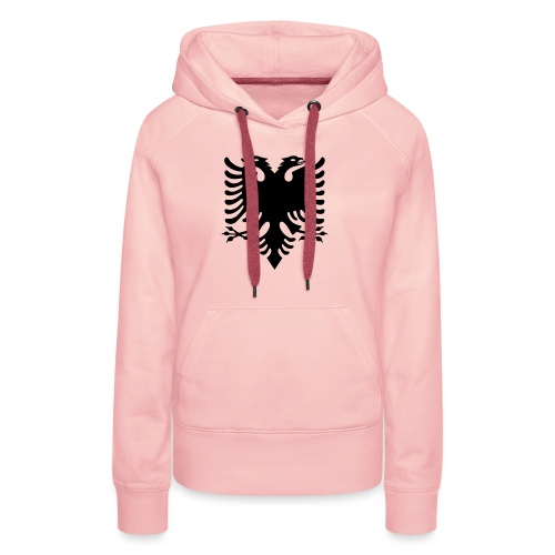 Albanian_Eagle.svg.png - Frauen Premium Hoodie