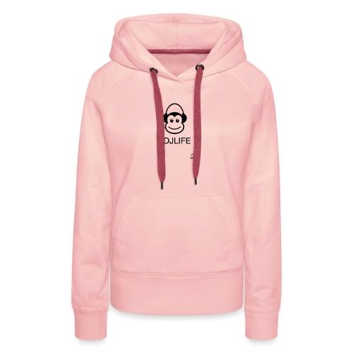 #DJLIFE - Vrouwen Premium hoodie
