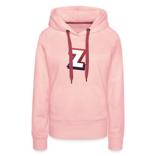 Team-ZeeYz logo - Premium hettegenser for kvinner