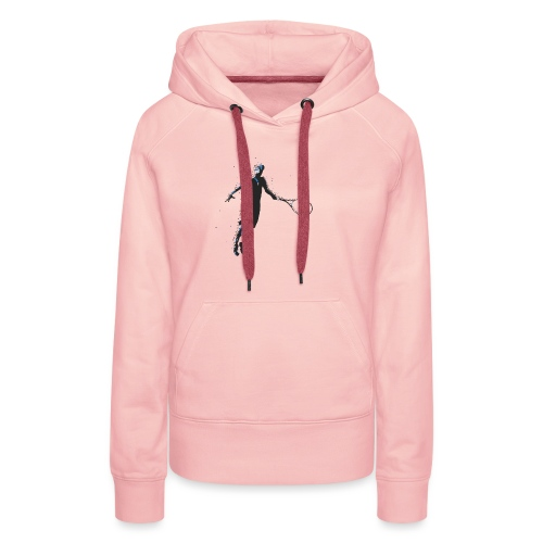 Flying Player - Frauen Premium Hoodie