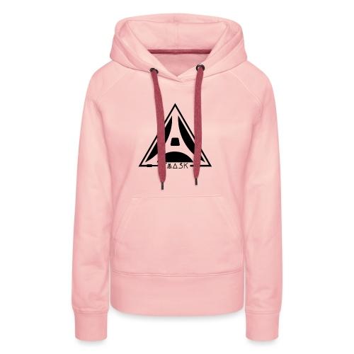 logo TMASK - Sweat-shirt à capuche Premium pour femmes