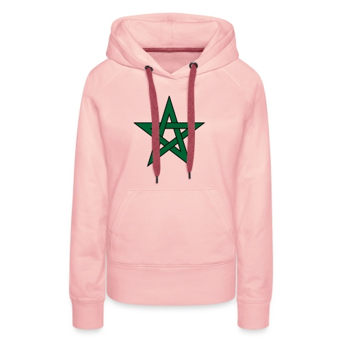 Star of Morocco - Sweat-shirt à capuche Premium pour femmes