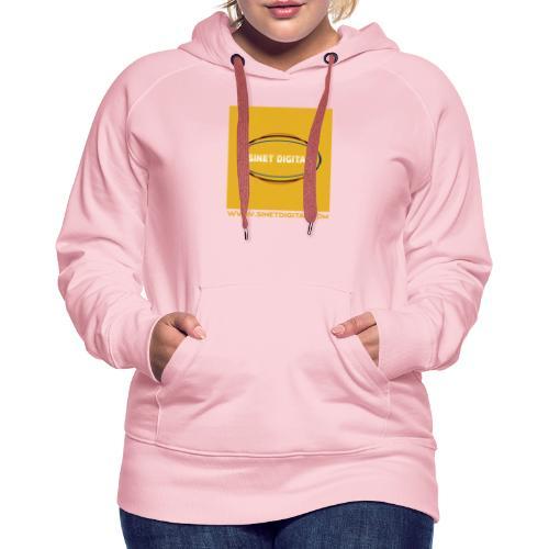 SINET DIGITAL - Sweat-shirt à capuche Premium pour femmes