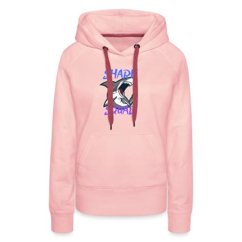 Shark Squad - PowerMEGAL0D0N - Sweat-shirt à capuche Premium pour femmes
