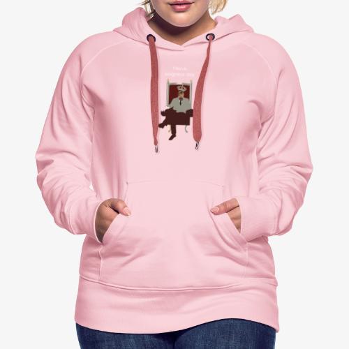 Avé Hervé - Sweat-shirt à capuche Premium pour femmes
