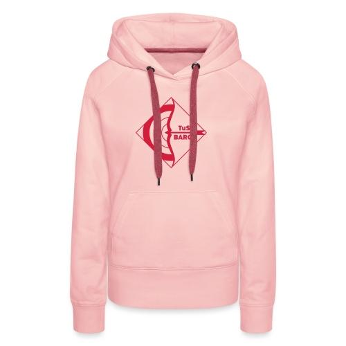 Klein Logo Bogen Tus Barop - Frauen Premium Hoodie
