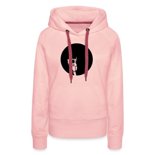 moon - Frauen Premium Hoodie