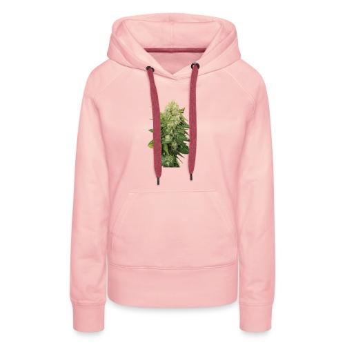 Cannabis Bud real - Frauen Premium Hoodie