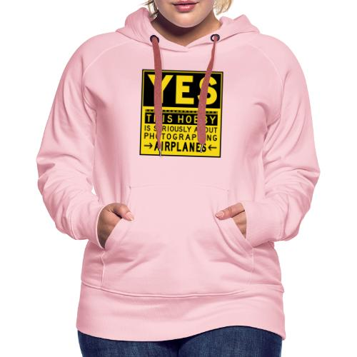 O co chodzi w planowaniu - znak fartucha - Bluza damska Premium z kapturem