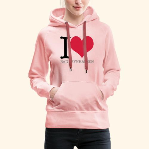 Love is in the Kurstadt - Frauen Premium Hoodie
