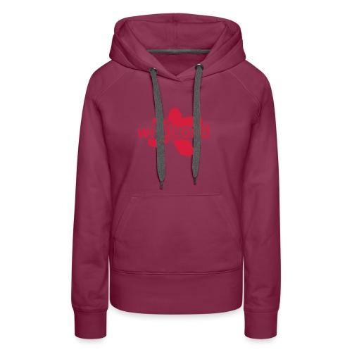 wildcard logo uni - Frauen Premium Hoodie