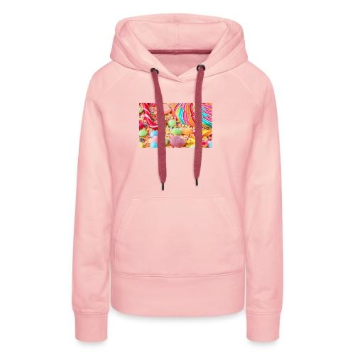 snoep afdruk/print - Vrouwen Premium hoodie