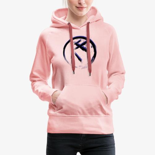 F.R.I.M. Ninja Mauve - Sweat-shirt à capuche Premium pour femmes