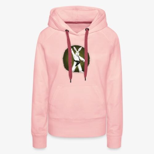 Metal Bunny - Premium hettegenser for kvinner
