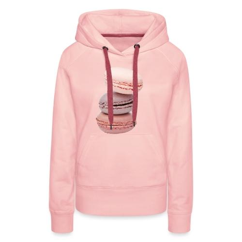 Macaron - Sweat-shirt à capuche Premium pour femmes