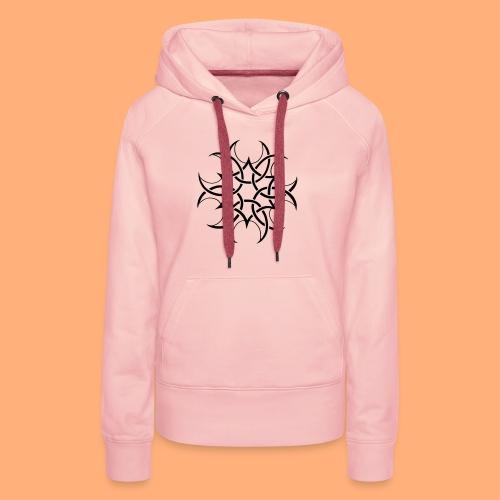 cropcircle - Sweat-shirt à capuche Premium pour femmes